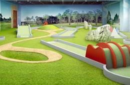 Mini-Golfbahnen