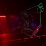 Interaktive Laserspiele