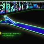 Schwarzlicht-Mini-Golf Bahn 4