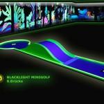 Schwarzlicht-Mini-Golf Bahn 8