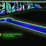 Schwarzlicht-Mini-Golf Bahn 13